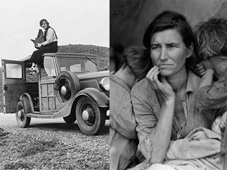 Migrant Mother and other iconic images from Dorothea Lange